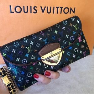 Louis Vuitton Monogram Multicolor Eugenie Wallet